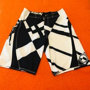 *3for$30*  O'Neill black&white board shorts GUC